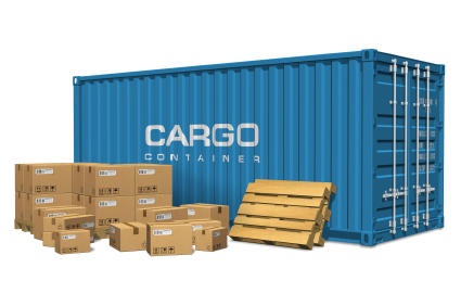 Pile of Cargo Containers used in Stile International Cargo Services